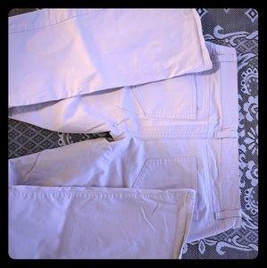 🦛Pale lavendor London Jean pants from VS